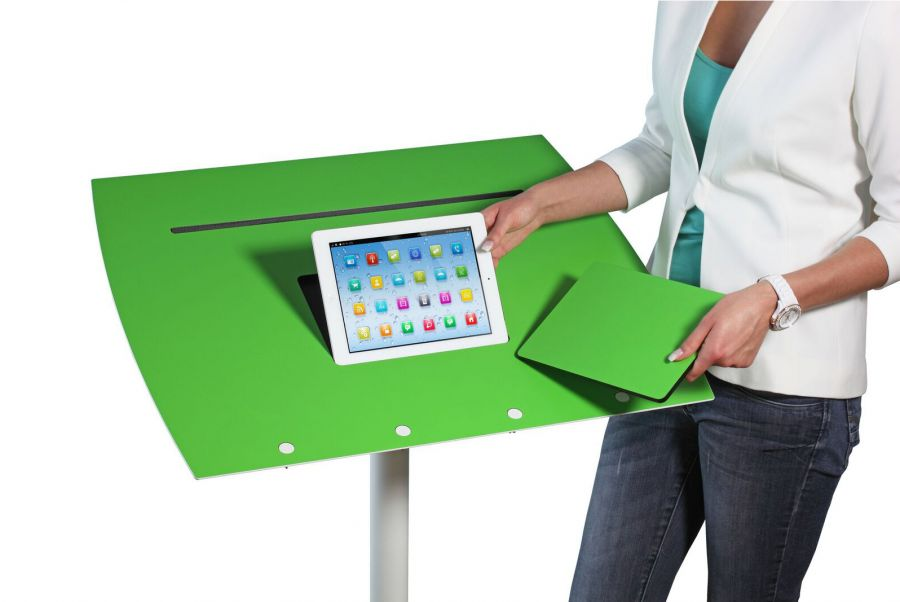 Officeplus Tablet Rolls mit Tablet Aussparung